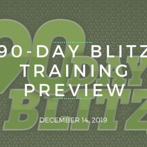 90-Day BLITZ Training Preview - Team Genesis Training December 14, 2019