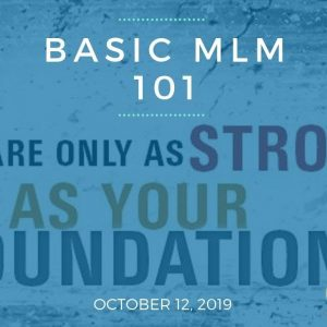 Basic MLM 101 - Team Genesis Training October 12, 2019