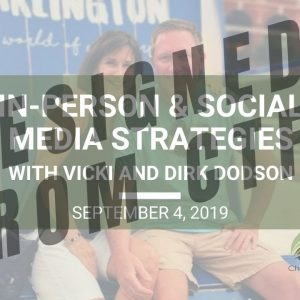 In-Person & Social Media Strategies - Wed. Webinar Replay September 4, 2019